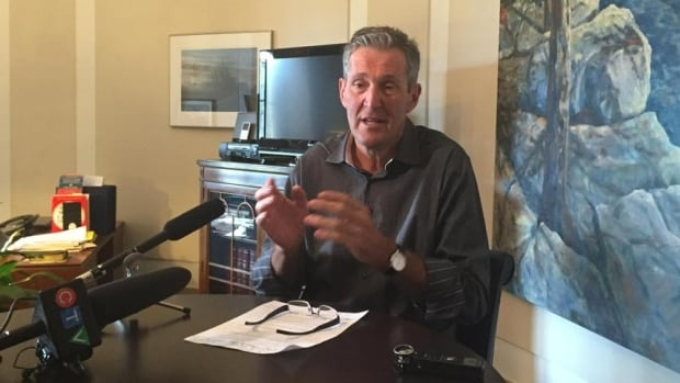 Manitoba Progressive Conservative Leader Brian Pallister says the government may have to pay higher borrowing costs if the NDP doesn't start getting costs under control.