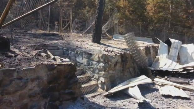 Destroyed property
