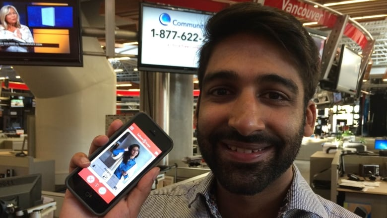 Khalil Jessa says he created Salaam Swipe to help dating Muslims have  access to the full diversity of the Muslim community. (CBC News)