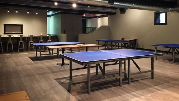 The Serve Ping Pong Bar and Lounge combines a night out with a game of ping pong.