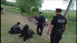 Saskatoon police on patrol