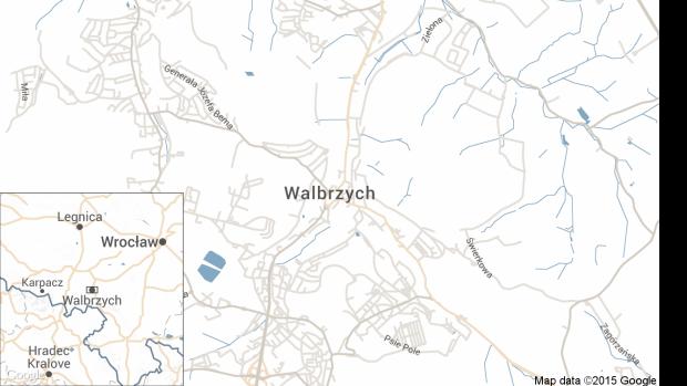 Walbrzych map