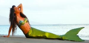 Lori Pappajohn mermaid school tail