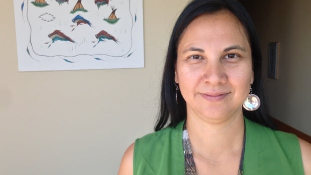 Belinda Daniels learned Cree as second language, and now teaches it to others.