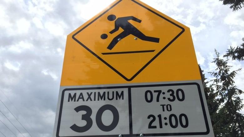 Calgary Playground Zone Speeding Ticket Menalmeida