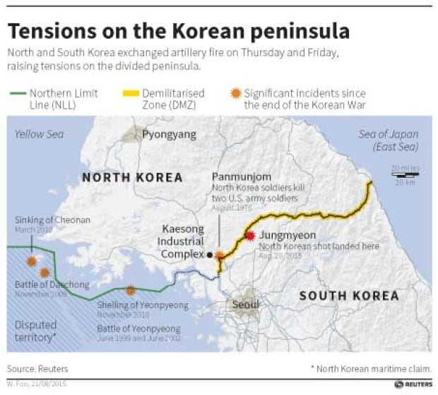 North Korea Warns Of Military Action As Deadline To Halt South - South korea us army bases map