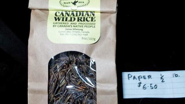 Black Duck wild rice