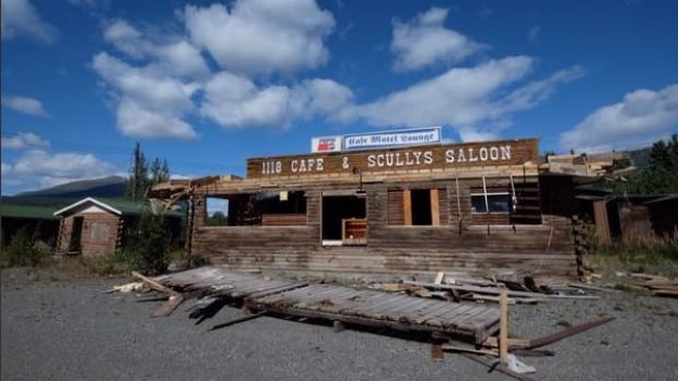 Photographer Mark Kelly says he was told on a recent road trip that the owner of this old saloon once ended a bar fight by firing his shotgun into the ceiling.