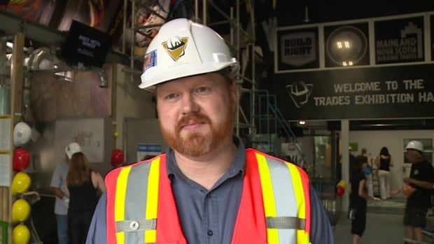 Trent Soholt, the executive director of the Nova Scotia Construction Sector Council says the event gives the public a chance to explore a variety of trades in a hands-on way.
