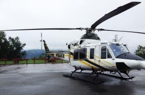 SQ Surete du Quebec helicopter