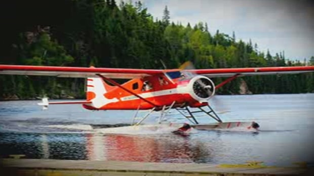 The De Havilland DHC-2 Beaver seaplane, as seen on the Air Saguenay website. The plane that crashed in a remote area near Tadoussac, Que., was 59 years old, but had a new engine, according to the company.