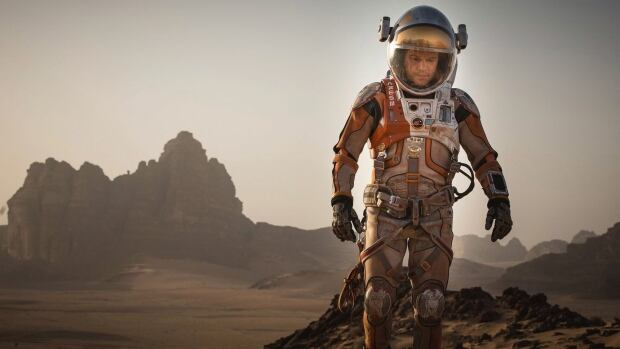 Matt Damon plays Mark Watney in The Martian, directed by Ridley Scott. The movie about an astronaut stranded on Mars had its world premiere at the Toronto International Film Festival this past weekend.