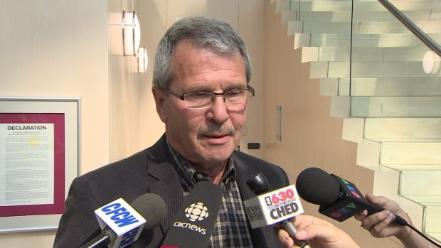 """Coun. Brian Anderson was one of the defenders of the signs, calling them """"rustic"""" and in keeping with Edmonton's character."""