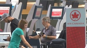 Air Canada software outage temporarily halts check-ins