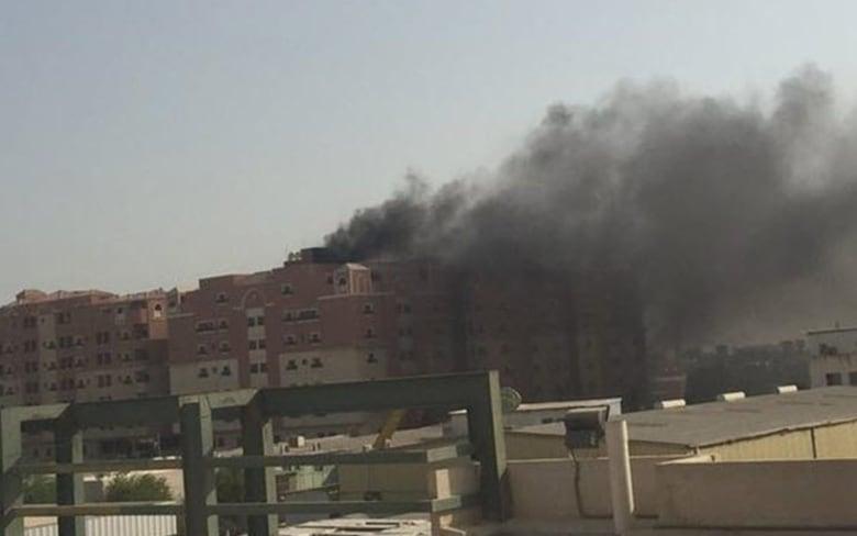Saudi fire: 3 Canadians die in housing complex blaze   CBC News