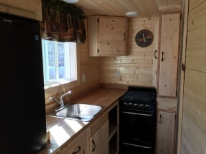 Yellowknife tiny house