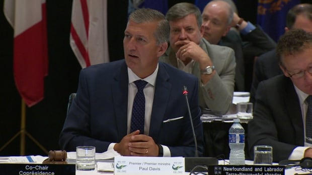 N.L. Premier Paul Davis is hosting the meeting of the New England Governors and Eastern Canadian Premiers, in St. John's.