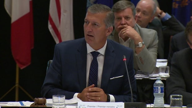 Paul Davis at governors and premiers meeting