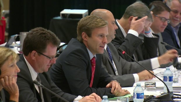 Brian Gallant at conference of New England Governors and Eastern Canadian Premiers