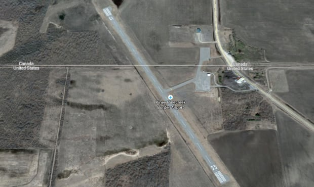 Piney Pinecreek Border Airport