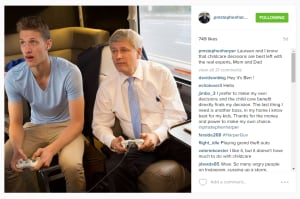 Stephen Harper Instagram