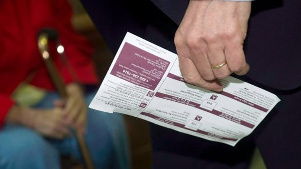 Elections Canada is sending 5,600 voter information cards to the Toronto-St.Paul's riding after the first round of cards directed voters to a non-existent address.