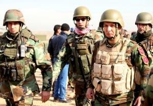 Peshmerga soldiers Jan 21 Mosul