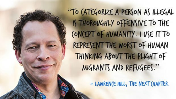Lawrence Hill on illegal persons