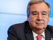 UNHCR Commissioner Antonio Guterres