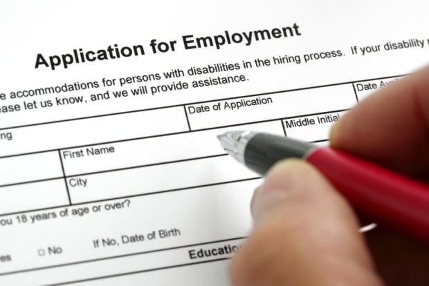 job application resume workforce labour surey