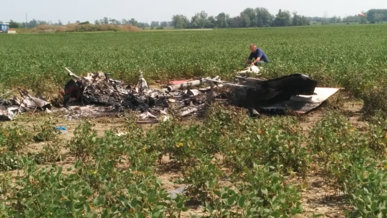 Pilot dead, plane demolished in Stoney Creek plane crash | CBC News
