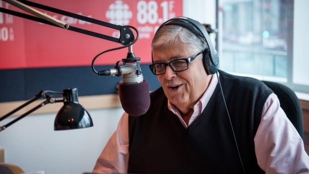 The Early Edition host Rick Cluff.