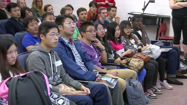 UPEI international students