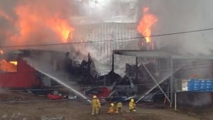 Peter Pitseolak school in Cape Dorset burns