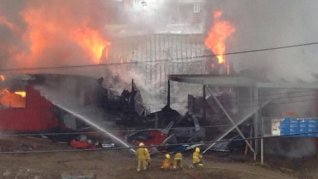Peter Pitseolak school in Cape Dorset burns
