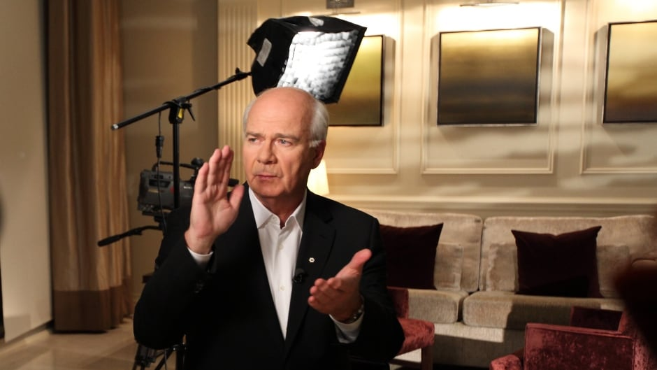 CBC News' chief correspondent Peter Mansbridge has conducted a series of exclusive one-on-one interviews with the four major political party leaders to air this week, Monday to Friday. Watch them at cbc.ca/thenational