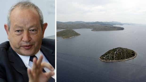 Naguib Sawiris has suggested that he could pay the refugees to build their own houses, schools and hospitals if Greece or Italy will sell him an island.