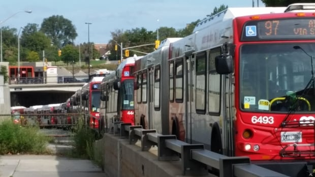 New OC Transpo numbers suggest that one in five buses is late during morning rush hour — the worst performance the agency has reported in the seven years they've been making that data public.