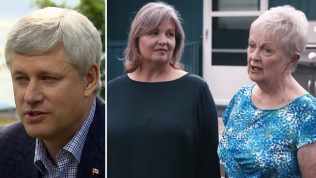Conservative Leader Stephen Harper said he's 'not perfect' in an interview with Peter Mansbridge that aired Monday. That same message appears in a new Tory ad.