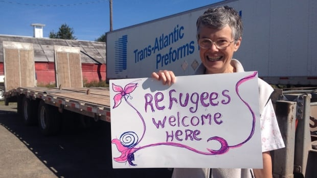 The Syria-Antigonish Families Embrace posted dozens of photos of locals welcoming refugees to the town.