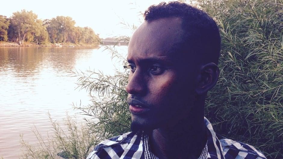 Yahya Samatar swam his way towards freedom in Canada.