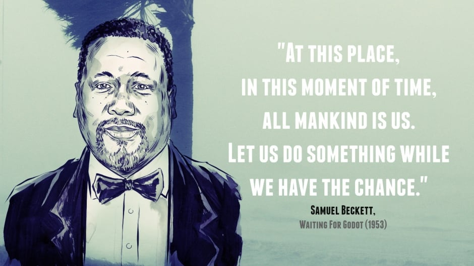 After Katrina, The Wire's Wendell Pierce heard a call to action in a Samuel Beckett play.