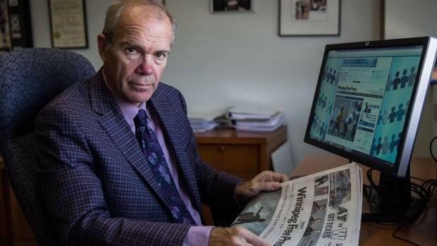 As print subscriptions and ad revenue decline, Winnipeg Free Press publisher Bob Cox is trying a radical experiment to cover the cost of independent journalism. He's asking online readers to pay for stories the same way they pay for iTunes songs: one at a time.