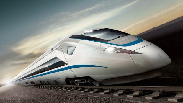 Bombardier's high-speed train, which it has sold to China. Reuters reports the company has turned down a Chinese offer for majority stake in its rail division.