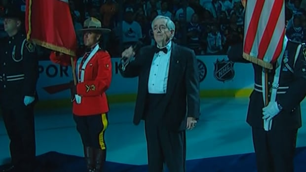 Richard Loney, longtime Vancouver Canucks national anthem singer, has died.