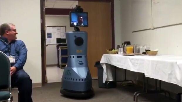 Meet PeTir, Regina's new medical robot.