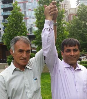 Zahed Haftlang and Najah Aboud