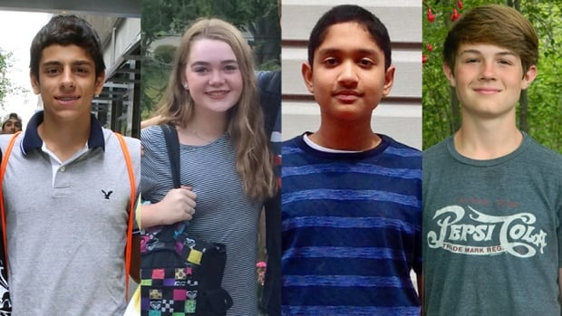 Trevor Namas, Hillary O'Neill, Anish Shrivastava and Jake Tomlinson, who were born on Sept. 11, 2001, are taking part in 9/11 Day, a project that encourages good deeds to pay tribute to the compassion that arose in the immediate aftermath of the 9/11 attacks.