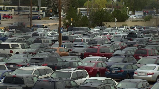 Commuters complain the Century Park park-and-ride lot is often packed by 7 a.m.