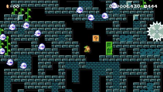 Super Mario Maker Link